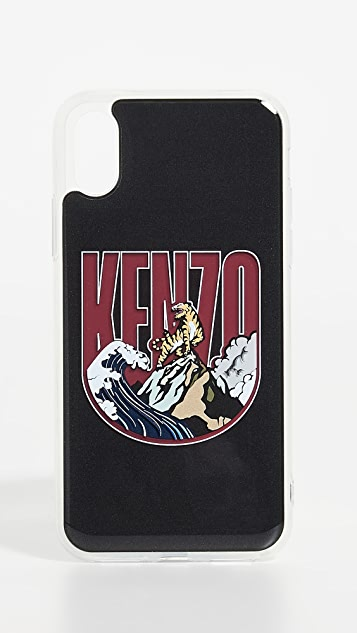 KENZO 3D Badge iPhone XS / X Case