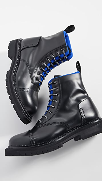 KENZO Kamden Lace Up Boots