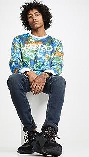 KENZO Kenzo World All Over Print Sweatshirt