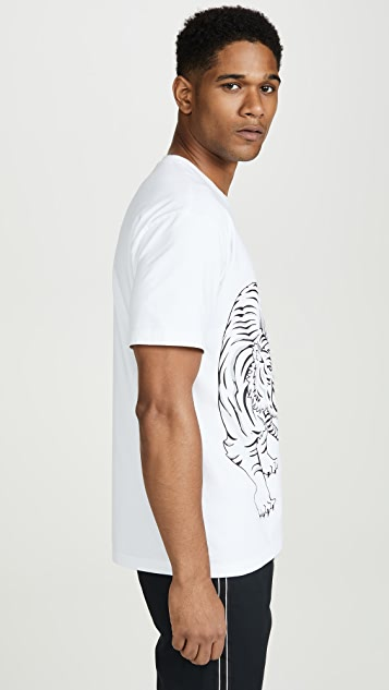 KENZO Double Tiger Short Sleeve T-Shirt