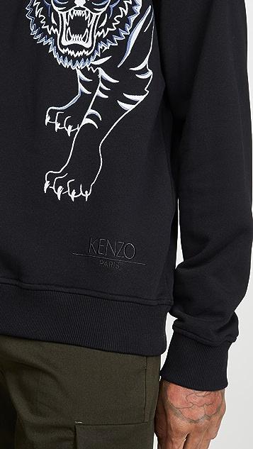 KENZO Double Tiger Crew Neck Sweatshirt