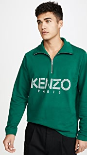 KENZO Kenzo Sport Half Zip Sweatshirt