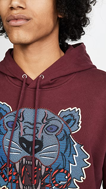 KENZO Hiking Tiger Pullover Sweatshirt