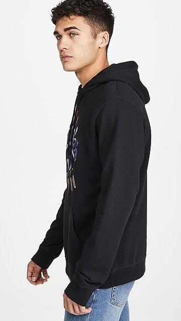 KENZO Gradient Eye Pullover Hooded Sweatshirt