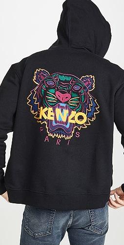 KENZO - Classic Tiger Zip Up Hoodie