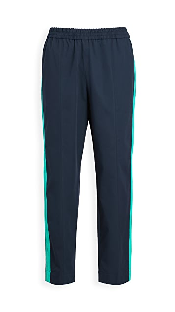 KENZO Tapered Cropped Sideband Pants
