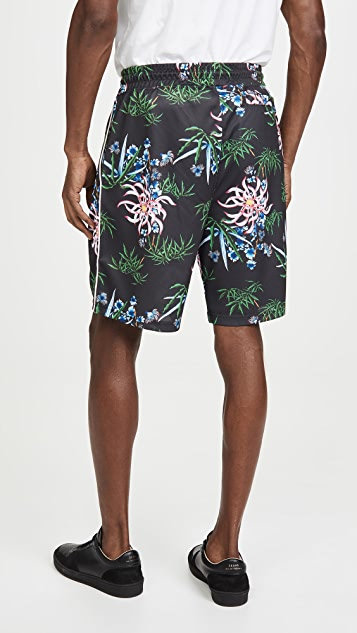 KENZO Technical Allover Shorts