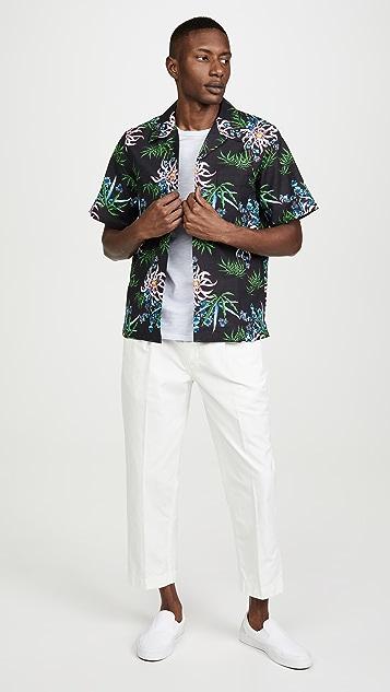 KENZO AOP Flower Casual Shirt