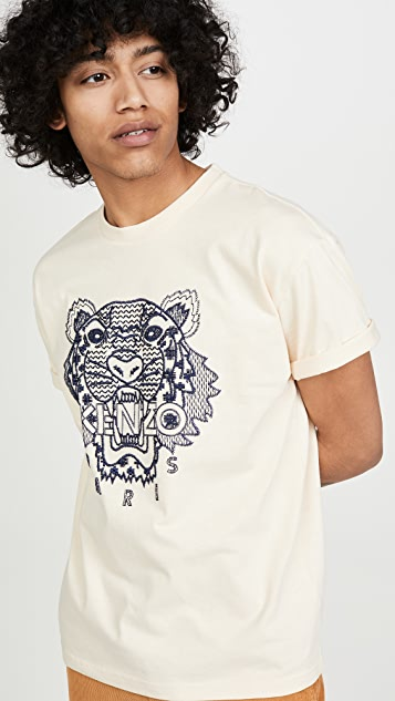KENZO Shibori Tiger Skate T-Shirt