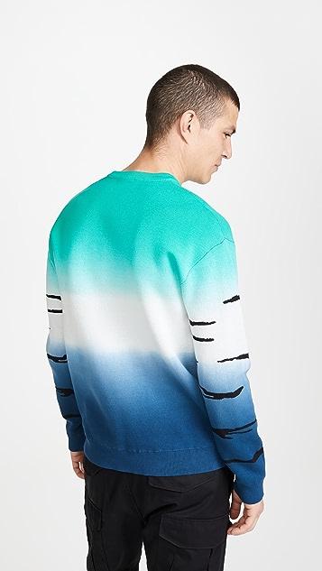 KENZO Dip Dye Tiger Sweater