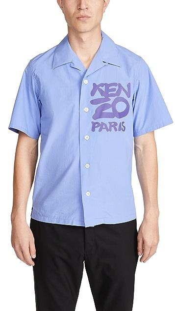 KENZO Kenzo Seasonal Logo Shirt