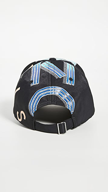 KENZO Nylon Cap with Sports Logo