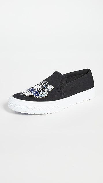 KENZO K-Skate Tiger Head Sneakers