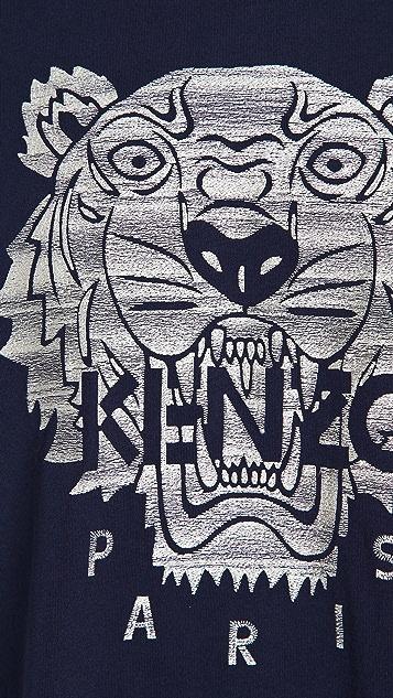 KENZO Stitched Tiger T-Shirt