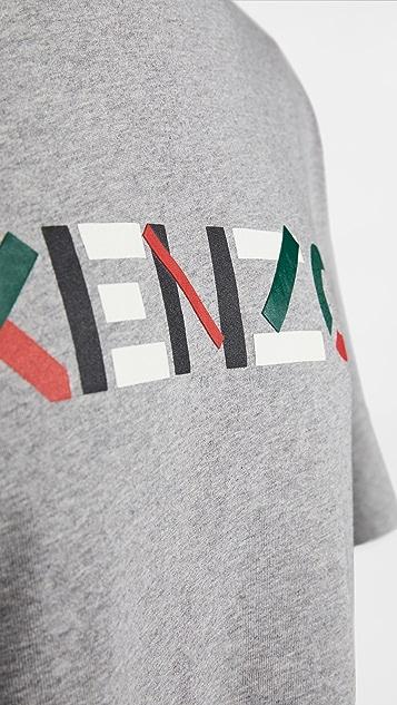 KENZO Kenzo Multico Logo T-Shirt