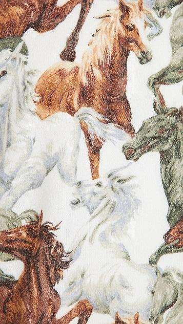 KENZO Horses Printed Sweater