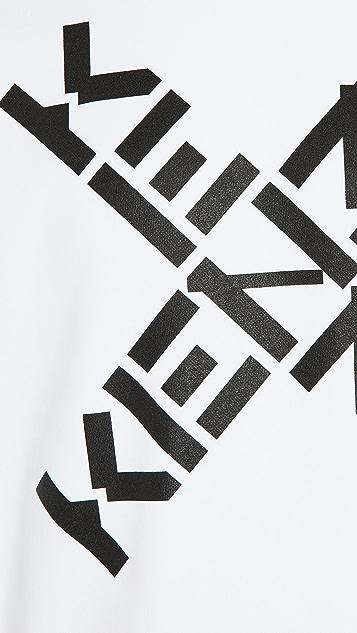 KENZO Kenzo Sport Crew Neck (Big 'X') Sweatshirt