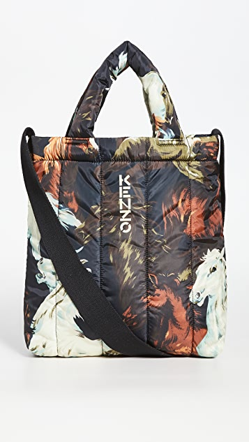 KENZO Quilted Tote