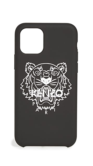 KENZO iPhone 11 Pro Silver Tiger Case