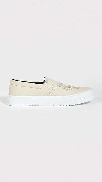 KENZO K Skate Slip On Sneakers