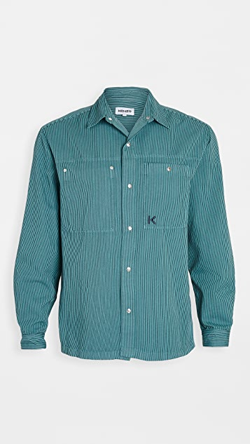 KENZO Snap Overshirt
