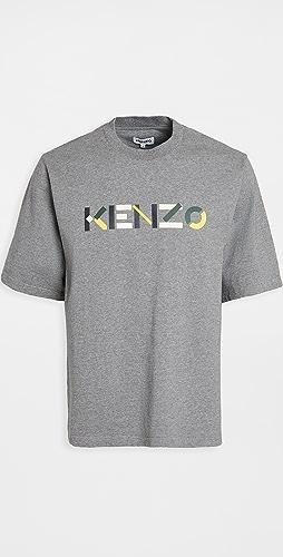 KENZO - Kenzo Logo Multico Skate T-Shirt
