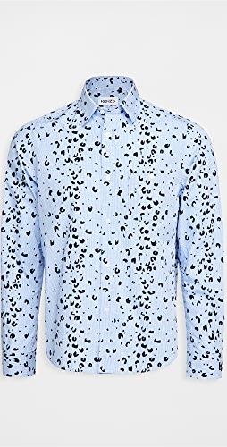 KENZO - Overprinted Casual Shirt