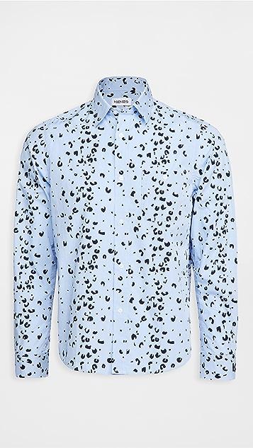 KENZO Overprinted Casual Shirt