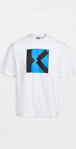 KENZO - Kenzo Sport 'K' Oversize Tee