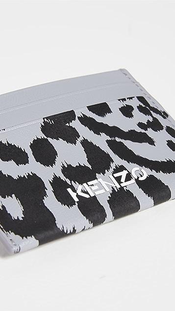 KENZO Leather Cardholder