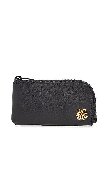 KENZO Zip Card Holder