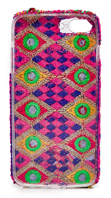 Kochaii Amethyst Double Tassel iPhone 7 Plus / 8 Plus Case