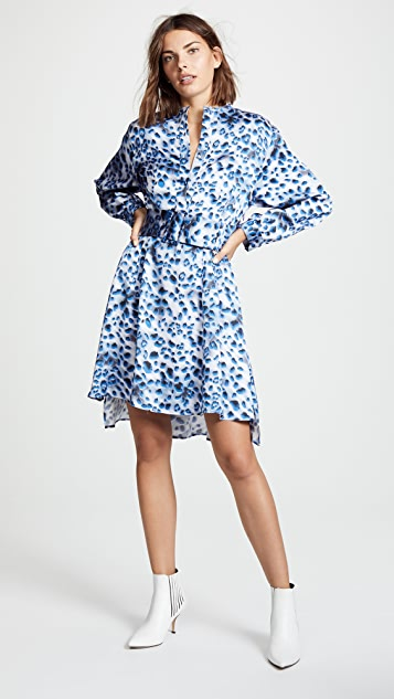 Koche Belted Shirt Dress