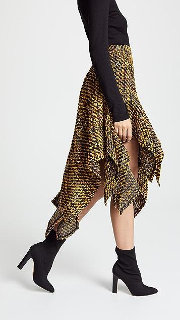 Koche Asymmetrical Skirt