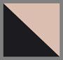 黑色/浅粉色/青铜色