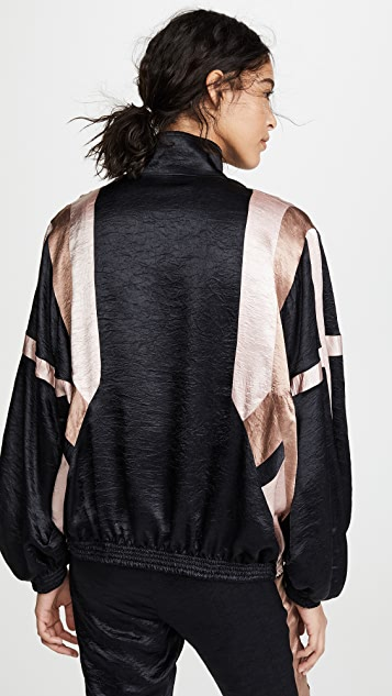Koche Patchwork Classic Bomber Jacket