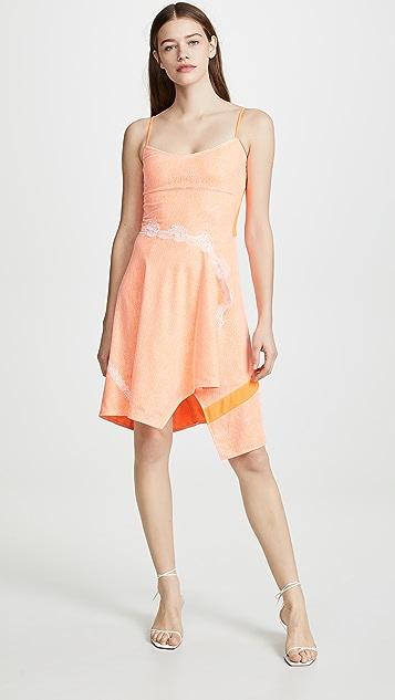 Koche Scoop Neck Printed Dress