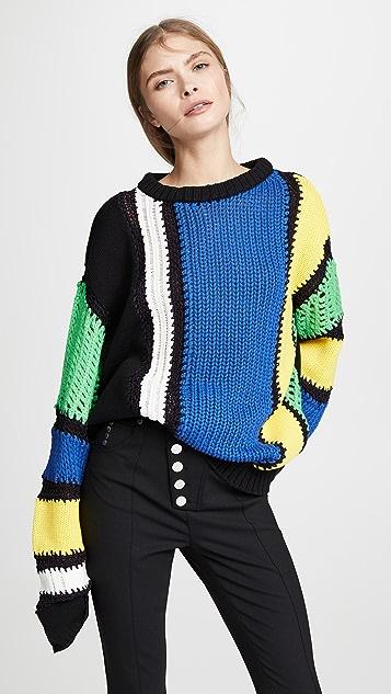 Striped Sweater by Koche