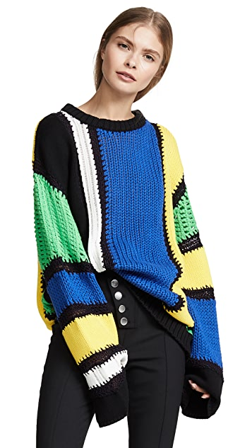 Koche Striped Sweater