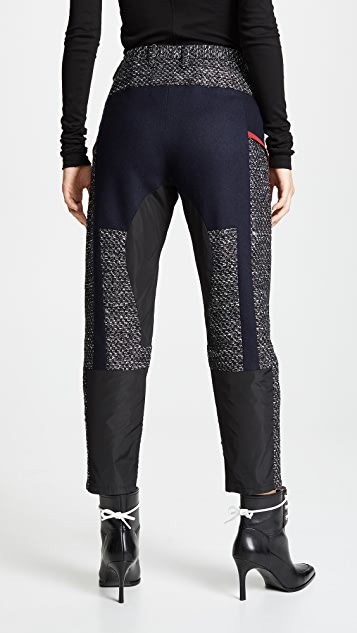Kolor Wool Combo Trousers