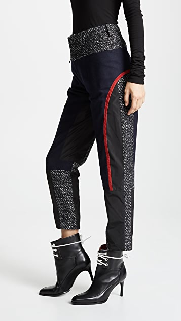 Kolor Wool Combo Trousers