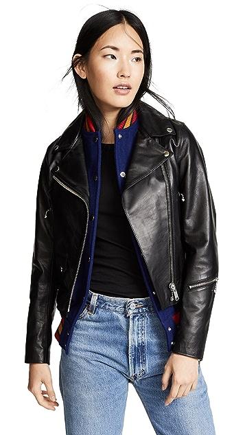 Kolor Leather Jacket