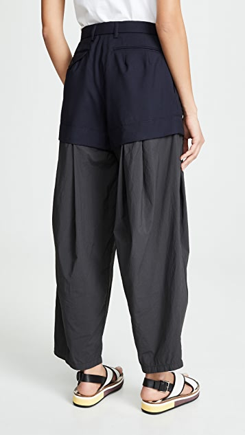 Kolor Tailored Double Layer Pants