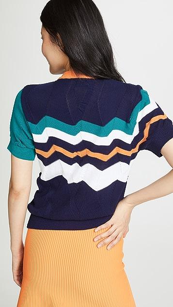 Kolor Stripe Sweater