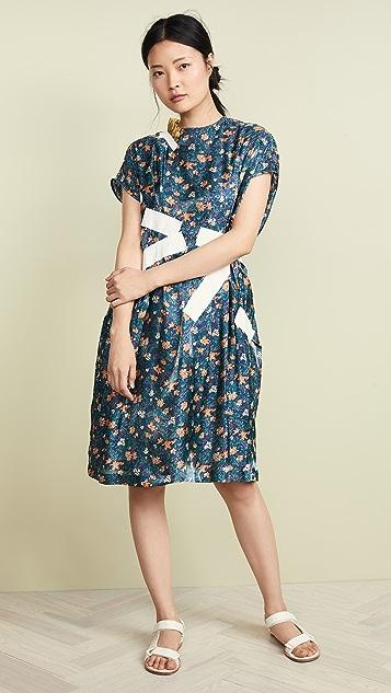 Kolor Patchwork Floral Dress