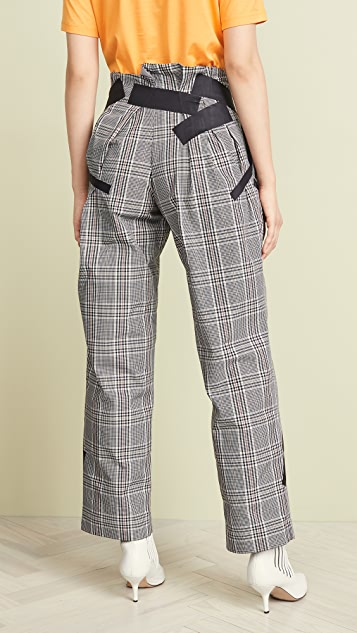 Kolor Check Trousers