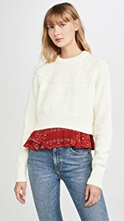Kolor Layered Detail Sweater