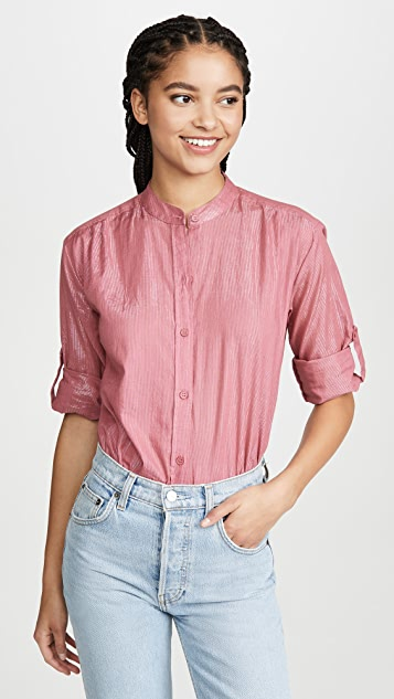 Kondi Metallic Blouse