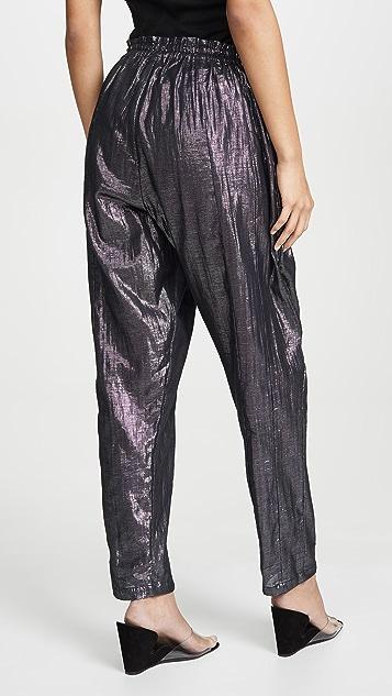 Kondi 金属色裤子