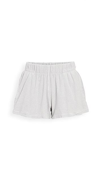 Kondi 毛圈布运动短裤